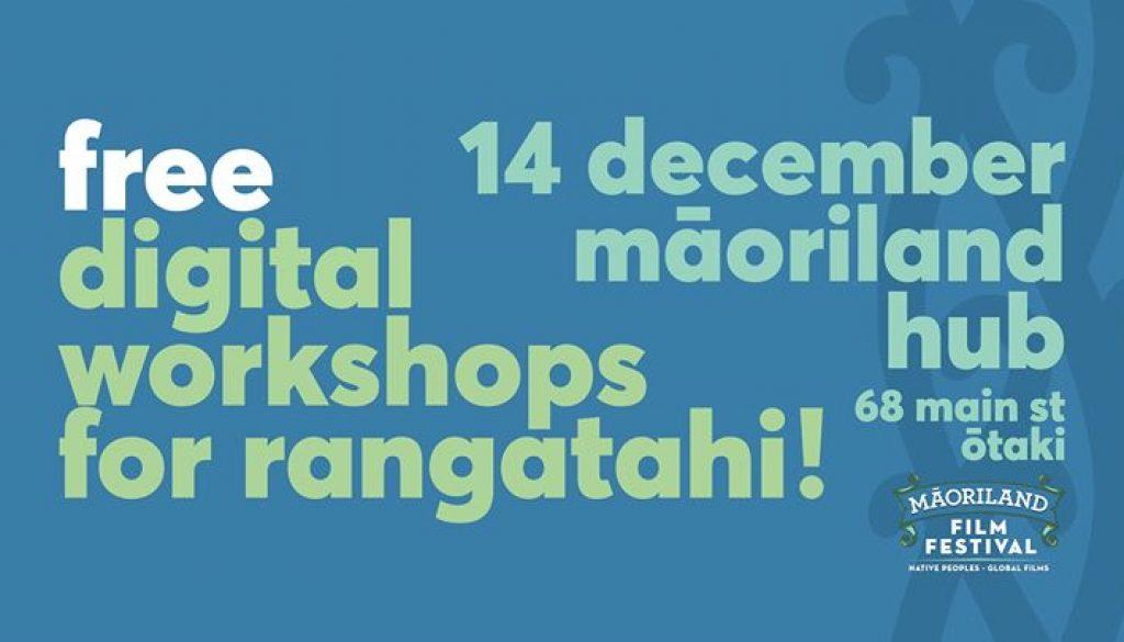 Ōtaki - Digital Tech Workshop For Rangatahi!