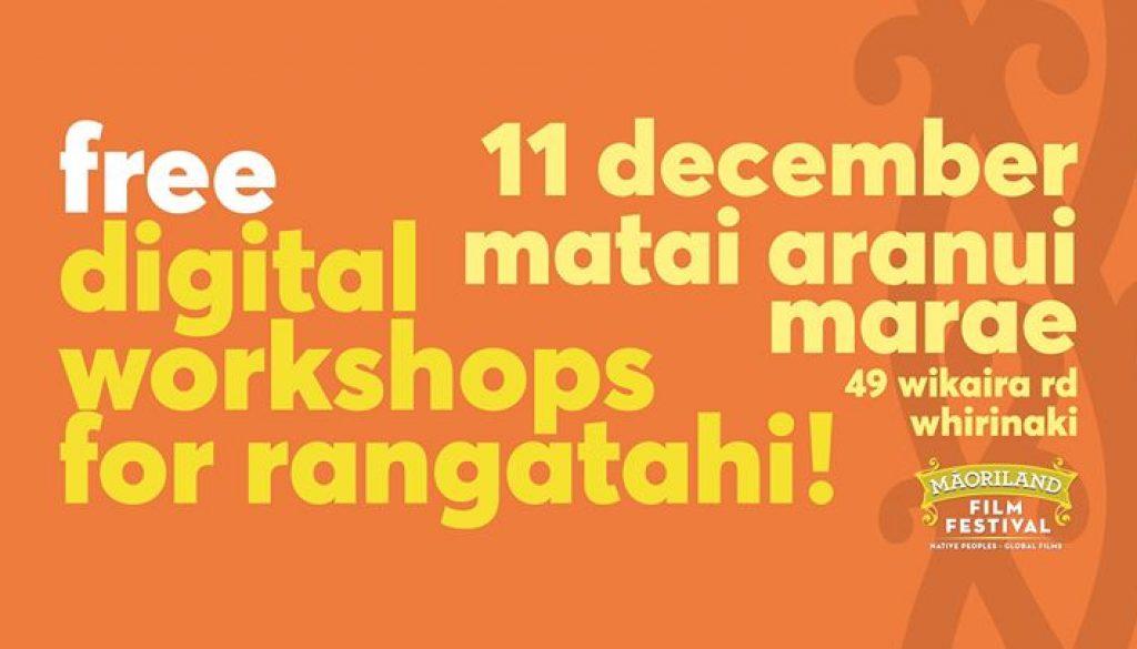 Hokianga - Digital Tech Workshop For Rangatahi!